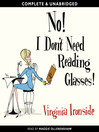 No! I Don't Need Reading Glasses (MP3)