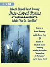 Robert and Elizabeth Barrett Browning (MP3): Best Loved Poems