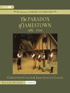 The Paradox of Jamestown (MP3): 1585–1700