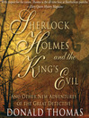 Sherlock Holmes and the King's Evil (MP3)