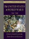 The United States in World War II (MP3): 1941-1945