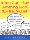 If You Can't Say Anything Nice (eBook)
