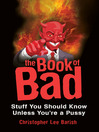 The Book of Bad (eBook)