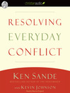 Resolving Everyday Conflict (MP3)