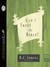 Can I Trust the Bible? (MP3)