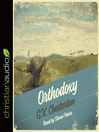 Orthodoxy (MP3): The Romance of Faith