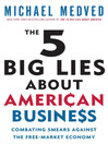 The 5 Big Lies About American Business (MP3): Combating Smears Against the Free-Market Economy