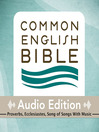 CEB Common English Bible Audio Edition with music - Proverbs, Ecclesiastes, Song of Songs (MP3)