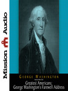 George Washington's Farewell Address (MP3)