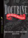 Doctrine (MP3): What Christians Should Believe