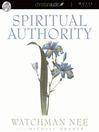 Spiritual Authority (MP3)