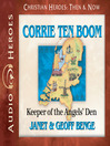 Corrie ten Boom (MP3): Keeper of the Angels' Den
