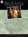 Know Why You Believe (MP3)