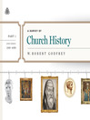 A Survey of Church History: A.D. 100-600 (MP3)