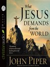 What Jesus Demands from the World (MP3)