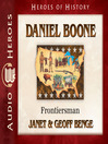 Daniel Boone (MP3): Frontiersman