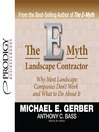 The E-Myth Landscape Contractor (MP3)