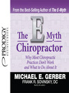 The E-Myth Chiropractor (MP3)
