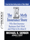 The E-Myth Insurance Store (MP3): Why Most Insurance Businesses Don't Work and What to Do About It