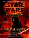 Fatal Alliance (MP3): Star Wars: The Old Republic Series, Book 3
