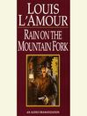 Rain on a Mountain Fork (MP3)