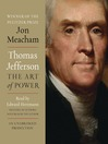 Thomas Jefferson (MP3): The Art of Power