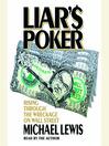 Liar's Poker (MP3): Rising Through the Wreckage on Wall Street