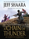 A Chain of Thunder (MP3): A Novel of the Siege of Vicksburg