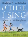 Of Thee I Sing (MP3): A Letter to My Daughters