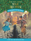 Earthquake in the Early Morning (MP3): Magic Tree House Series, Book 24