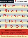 How to Read a Person Like a Book (MP3)