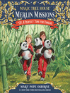 A Perfect Time for Pandas (MP3): Magic Tree House Series, Book 48