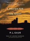 A Prayer for the Night (MP3): Amish-Country Mystery Series, Book 5