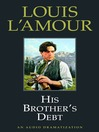 His Brother's Debt (MP3)