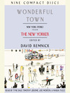 Wonderful Town (MP3): New York Stories from The New Yorker