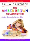 Amber Brown Is Feeling Blue (MP3)