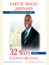 32 Ways to Be a Champion in Business (MP3)