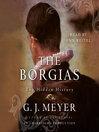 The Borgias (MP3): The Hidden History