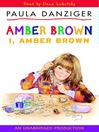 I, Amber Brown (MP3)