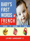 Baby's First Words in French (MP3)