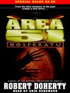 Nosferatu (MP3): Area 51 Series, Book 8