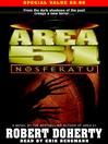 Nosferatu (MP3): Area 51 Series, Book 8
