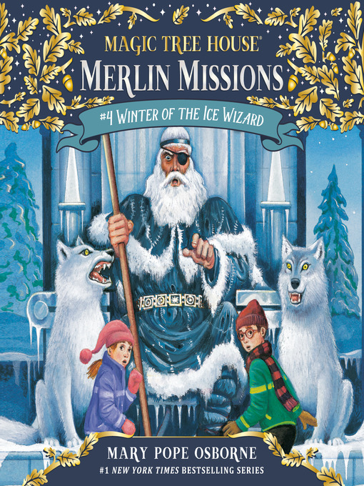 Winter of the Ice Wizard (MP3): Magic Tree House Series, Book 32