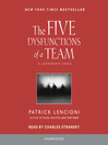 The Five Dysfunctions of a Team (MP3)