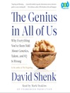 The Genius in All of Us (MP3): New Insights into Genetics, Talent, and IQ