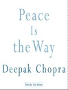 Peace Is the Way (MP3): Bringing War and Violence to an End