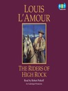 The Riders of High Rock (MP3)