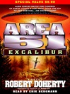 Excalibur (MP3): Area 51 Series, Book 6