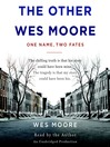 The Other Wes Moore (MP3): One Name, Two Fates