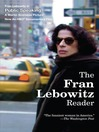 The Fran Lebowitz Reader (MP3)